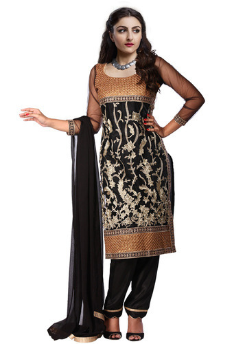 3ef7763e1f Designer Fancy Semi Stitched Salwar Suit at Rs 999 /piece | Semi ...