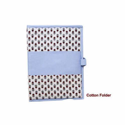 Cotton File Folder
