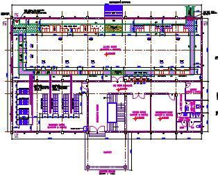 Sample Drawings Equipment Amp Cable Tray Layout Services