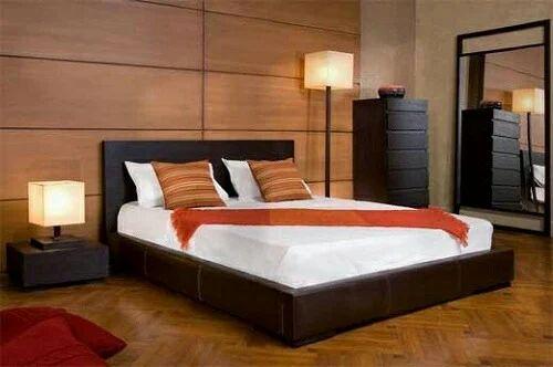 Home Furniture Bed wooden home furniture - wooden bed manufacturer from vadodara