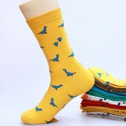 Latest Girl Stylish Cartoon Pattern Casual Socks