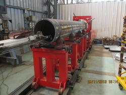 Pipe Cladding Machine