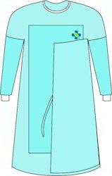 Surgical Wraparound Reinforced Gown