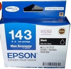 Epson 143 Black Ink Cartridge