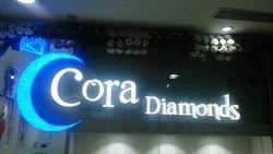 Acrylic Diamond Letter