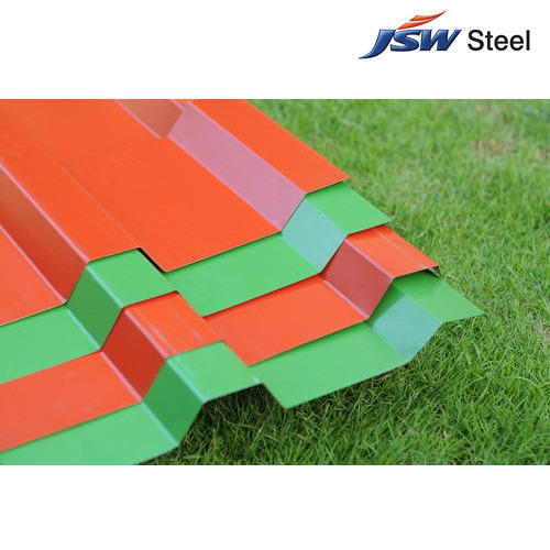 Steel / Stainless Steel Colour Coated Profile Sheets   ID: 13933525588