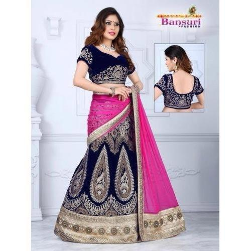 7e1f0dbfb8078 Fancy Ghagra Choli at Rs 4599  piece