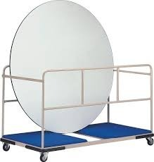 Trolley for Round Table