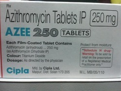 Azee 250mg Azithromycin Tablets