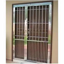 Beautiful Stainless Steel Door Grill