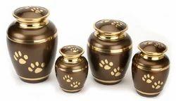 Brass Pet Urn