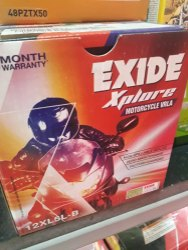 Exide Scooter Battery