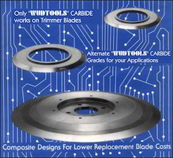 Tungsten Carbide Lead Wire Trimmer Blades