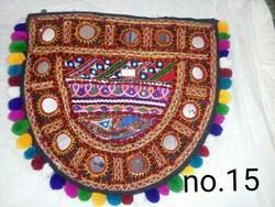 Screen Land Fashion Bags Rabari Round Half, Packaging Type: Carton