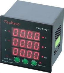 Techno Three Phase Programmable Digital VIF Meter