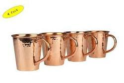 Brass Mug Set