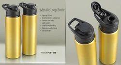 A&BM Ss Metallic Loop Bottle, Capacity: 750ml