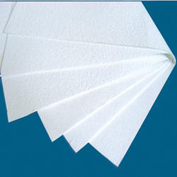 600 X 400 X 10/5 Mm Ceramic Fiber Fireproof Insulation Board