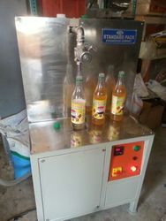 Semi Automatic Juice Filling Machine