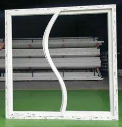 S Shape UPVC sliding window