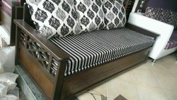 Woodan Sofa Cum Bed