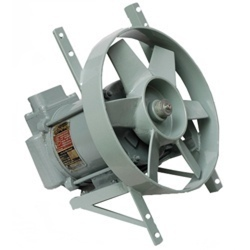 Grey Aluminium Flame Proof Exhaust Industrial Fan