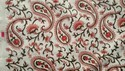 Hand Block Paisley Suit Fabric