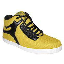 Trendy Leather Sneaker Shoes