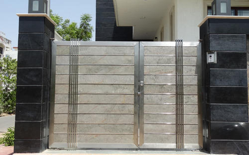 Stainless Steel Main Gate. Stainless Steel Main Gate   Raj Techno Fab Engineers Pvt  Ltd