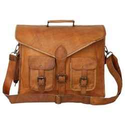 Genuine Leather Mac Book Messenger Bag MESS126