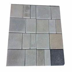 Concrete Rubber Paver Block