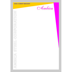 Company Letter Head Printing Services