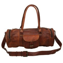Leather Sports & Gym Duffel Bag DUFF104
