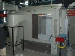 Electrostatic Powder Coating Booth, Cross-Flow Type