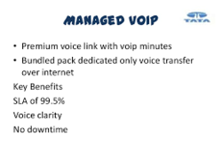 VoIP Gateway Managed Tata Tele Business Services, in Pan India