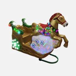 Cloudy Horse Kiddie Ride