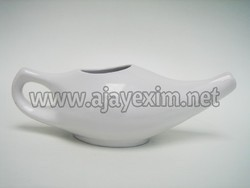 Ceramic White Neti Pot