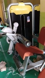 Leg Curl With Extension Machine