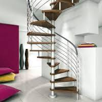 Wooden Steel Spiral Staircase
