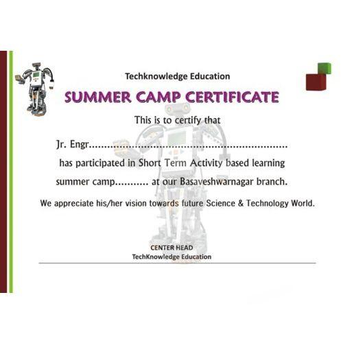 summer camp certificate designing service ideas redefined