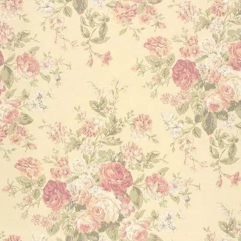 Permalink to Flower Printed Wallpaper
