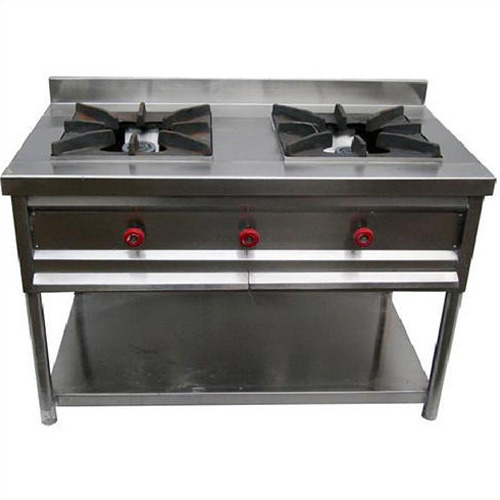 2 Burner Commercial Gas Stove at Rs 15000/unit   Commercial Gas Stove   ID:  11670250248