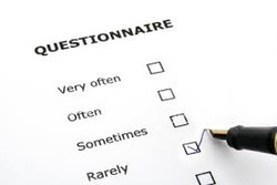 Questionnaire Data Entry