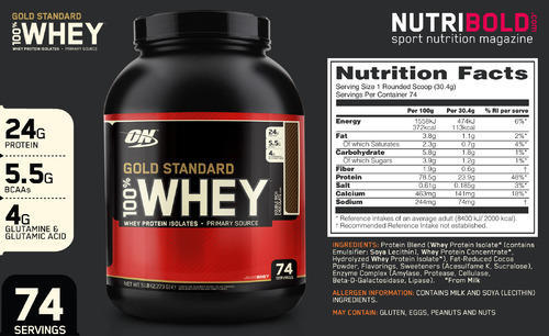 4 Original On Gold Standard Whey Protein - UK Skin Lightening, Mumbai | ID: 12983065912