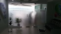 Gypsum Glass Partition