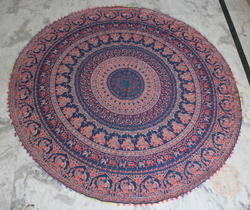 Round Table Runner Wall Hanging