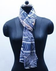 EGSC00016 Abstract Print Cotton Scarf