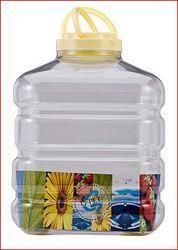 Chemco Transparent Round PET Jar 20000ml for Food Storage