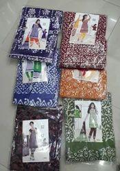 Female Batik Dress Material