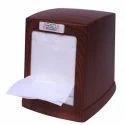 Brown Plastic Lunch Napkin Dispenser